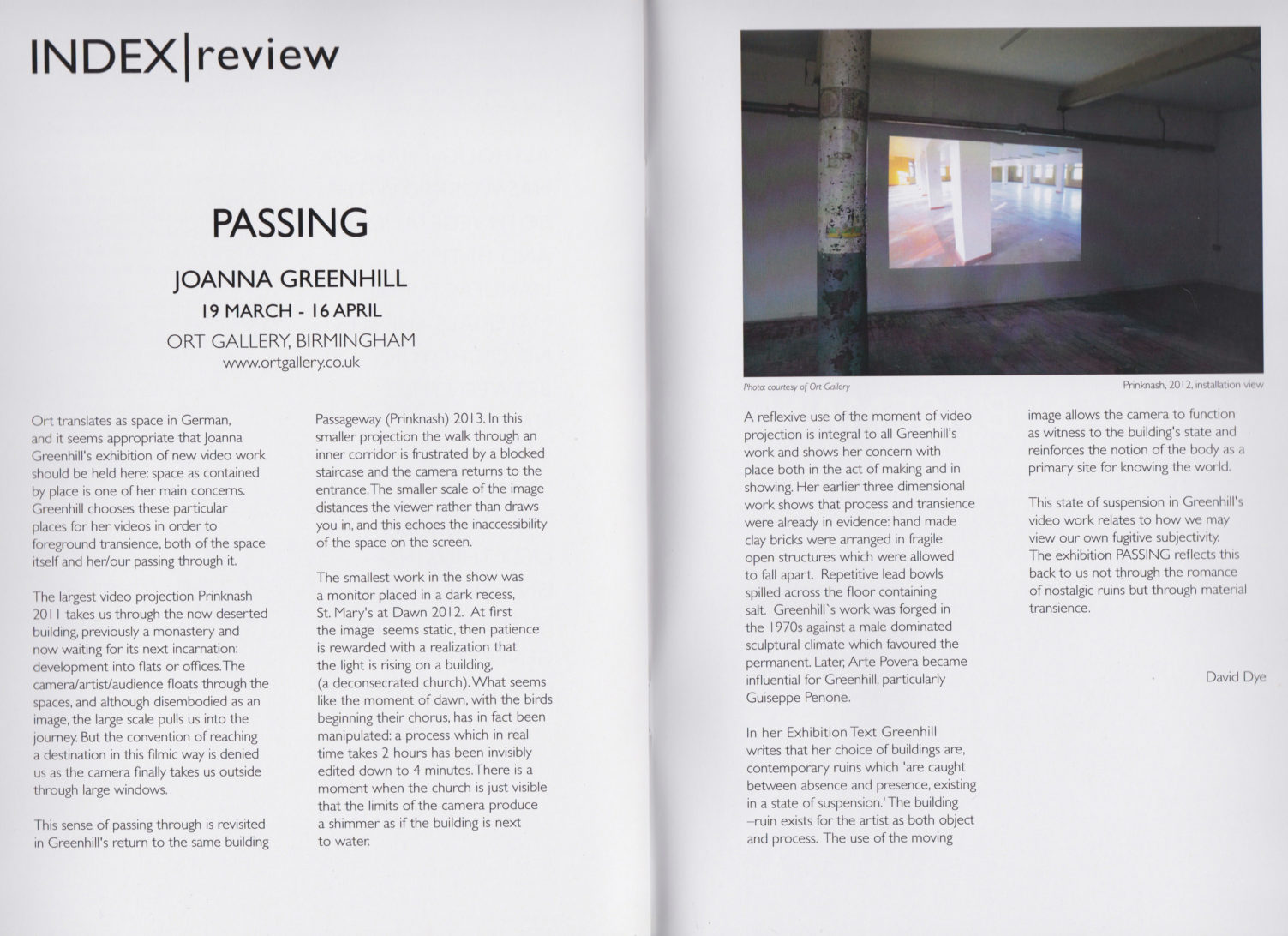 Index-Review-PASSING